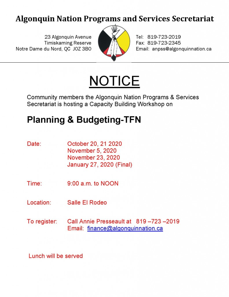 TFN Posters-Planning and Budgeting-Website